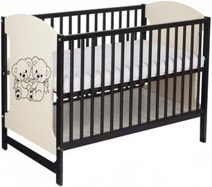 Minikid Miki Baby Bed 104 Venge/Cream Bears