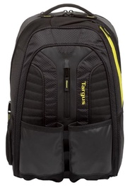 "Targus Laptop Backpack 15.6"" Black/Yellow"