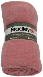 Bradley Plaid Fleece 150x200cm Rose