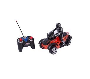 Rotaļlieta motociklu vada radioviļņiem