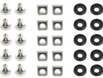 Gembird 19'' Mounting Screws Set 10pcs