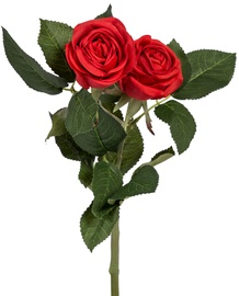Home4you Artificial Flower Rose H40cm Red