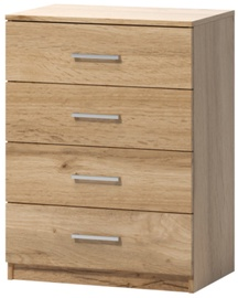 WIPMEB Tatris 01 Chest Of Drawers Wotan Oak