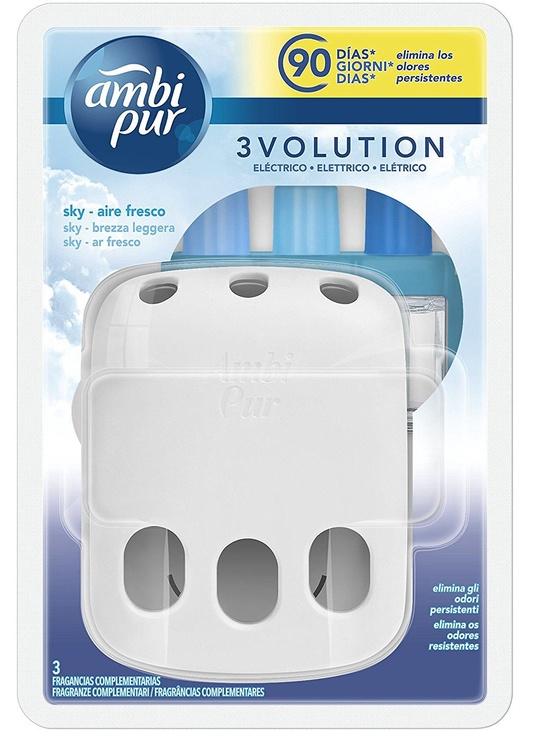 Освежитель воздуха Ambi Pur 3Volution Plug-In Refill Sky Air, 20 мл