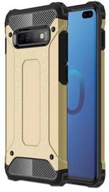 Hurtel Hybrid Armor Back Case For Samsung Galaxy S10 Plus Gold