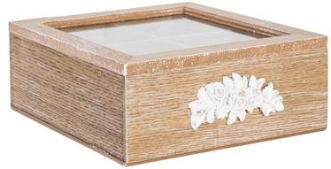 Home4you Tea Box Rose 4x Wood