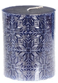 3fa1be59e97 Verners Candle 6x7cm Blue/Silver