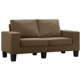Диван VLX 2-Seated 287113, коричневый, 70 x 145 x 75 см