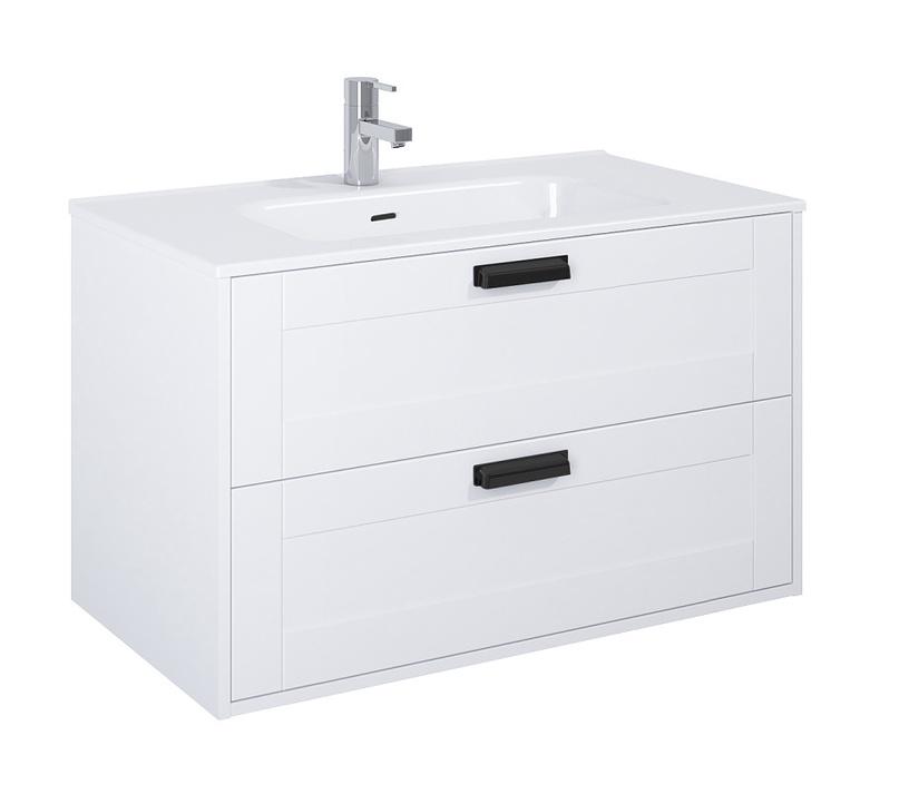 Masterjero Inge 90 Bathroom Cabinet White