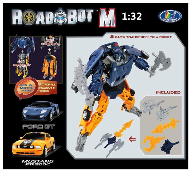 Robotas Ford Mustang