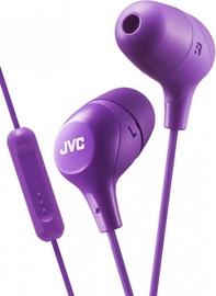 Ausinės JVC HA-FX38M Violet