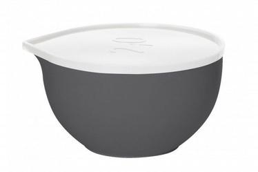 Plast Team Bowl With Lid D21cm 2l Grey