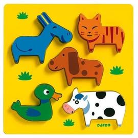 Koka puzle Djeco Vachemenbien DJ01022