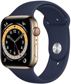 Nutikell Apple Watch Series 6 GPS LTE 44mm Stainless Steel, kuldne