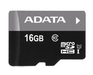 Adata 16GB Premier Micro SDHC Class 10 + Micro reader