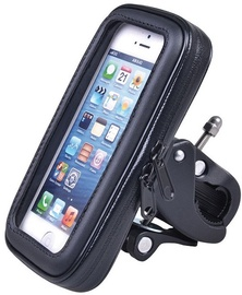 Telefono laikiklis Maclean Bicycle Phone Holder Size L Black