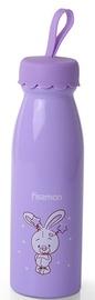 Fissman Vacuum Bottle Rabbit 450ml Light Violet