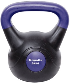 inSPORTline Dumbbell Vin-Bell Dark 20kg 10744