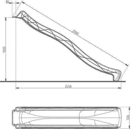Liumägi 402.015.001.001, 290 cm
