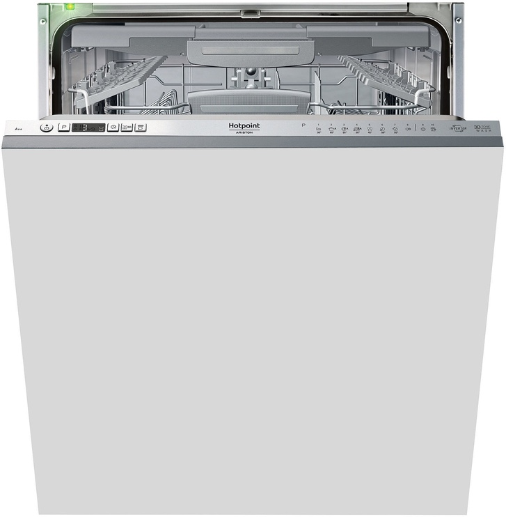 Įmontuojama indaplovė Hotpoint Ariston HIO 3T223 WGF E