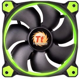 Thermaltake Riing 12 Green LED Fan 120mm CL-F038-PL12GR-A