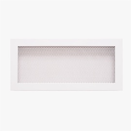 NORDFlam Fireplace Grill 370x170mm White
