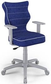 Vaikiška kėdė Entelo Duo Size 6 VS05 Grey/Navy Blue, 425x400x1045 mm