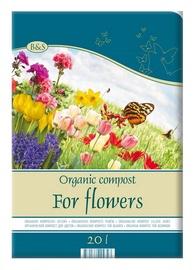 Organisks komposts puķēm Biohumus & Soil, 20l