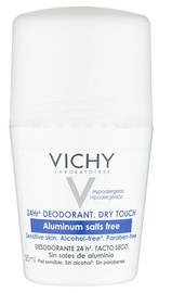 Vichy 24 Hour Dry Touch Roll On Deodorant 50ml