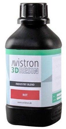 Расходные материалы для 3D принтера Avistron 3D Resin Industry Blend, красный