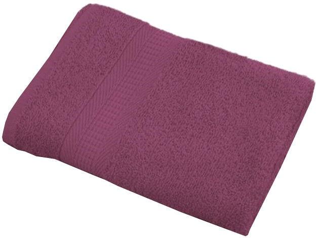 Bradley Towel 70x140cm Pastel Bordeaux