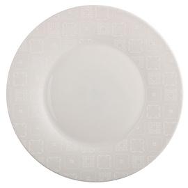 Luminarc Calicot Dinner Plate D28cm Grey
