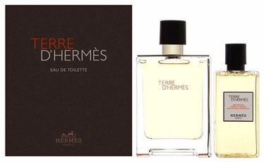 Rinkinys vyrams Hermes Terre D Hermes 100 ml EDT + 80 ml Shower Gel
