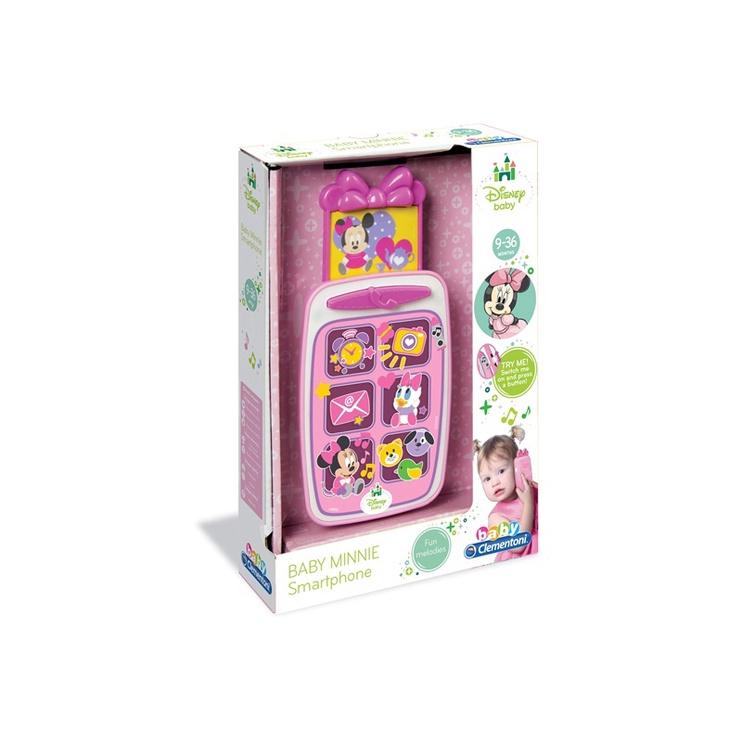Interaktyvus žaislas Clementoni Baby Minnie Smartphone 14950