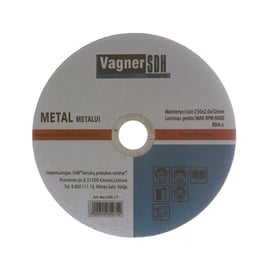 Pjovimo diskas Vagner SDH, 230 x 2 x 32 mm