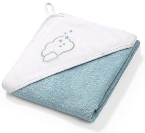 BabyOno Terry Hooded Towel 100x100cm Blue