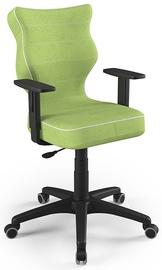 Детский стул Entelo Duo VS05, черный/зеленый, 375 мм x 1000 мм