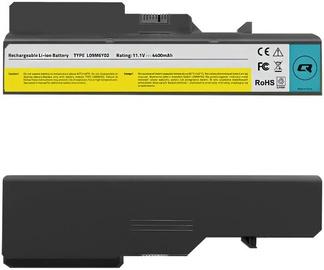 Аккумулятор для ноутбука Qoltec Long Life Notebook Battery For Lenovo B470/B575/G460/G560 4400mAh