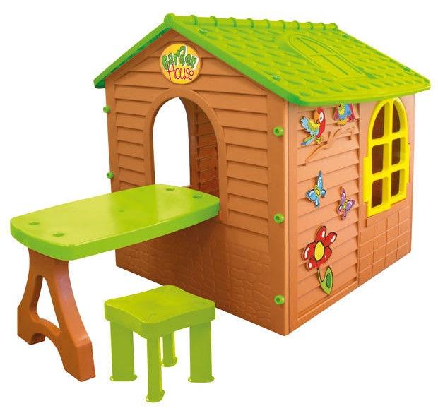 Mochtoys Garden House Brown/Green 11045