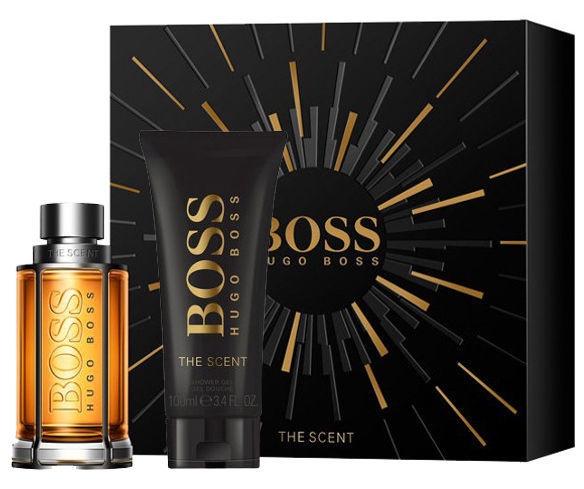 Туалетная вода Hugo Boss The Scent 50 мл EDT+100 мл Гель для душа New Design