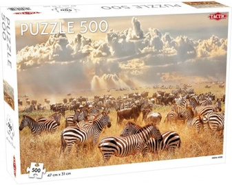 Tactic Puzzle Zebra Herd 500pcs 56655