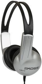 Koss UR10 On Ear Headphones Silver/Black