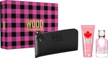Rinkinys moterims Dsquared2 She Wood 3pcs Set 200ml EDP