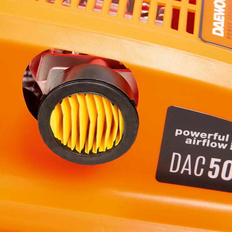 Daewoo DAC 50D Air Compressor Orange