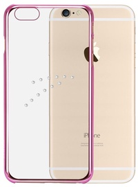 X-Fitted Diamond Arrow Swarovski Crystals Back Case For Apple iPhone 6/6s Pink