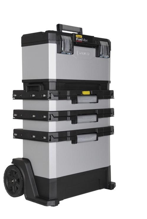 Коробка Stanley 1-95-622, серебристый/черный
