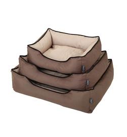 Comfy Dog Cushion Brown L 73x58x19cm