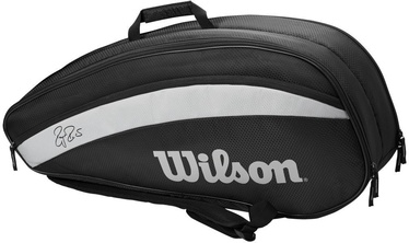 Wilson Roger Federer Team 6 Pack Bag Black