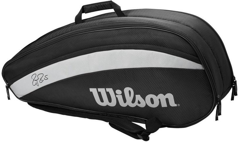Wilson Roger Federer Team 6 Pack Bag Black