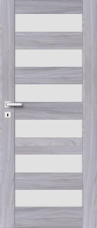 Полотно межкомнатной двери PerfectDoor ERIE 01, серый, 2035 см x 744 см x 4 см